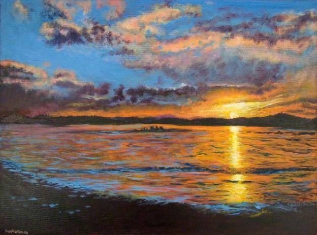 Wachusett Sunset